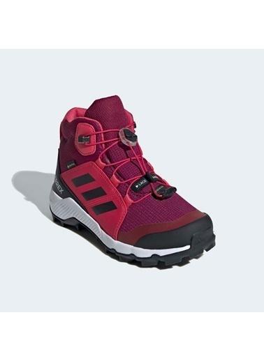 adidas Adidas Çocuk Koşu - Yürüyüş Ayakkabısı Terrex Mid Gtx K Fw9758 Pembe
